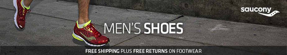 Saucony men's shoes. Free shipping plus free returns on footwear!