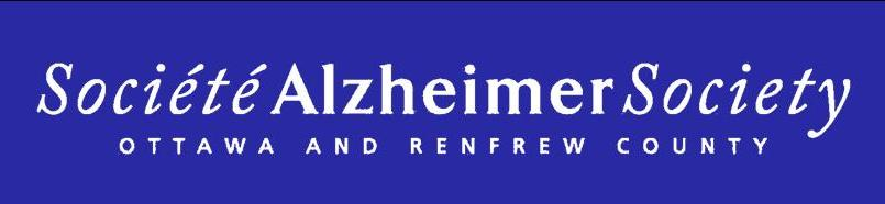 La Société Alzheimer d'Ottawa et du comté de Renfrew