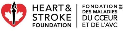 La Fondation des maladies du coeur et de l'AVC