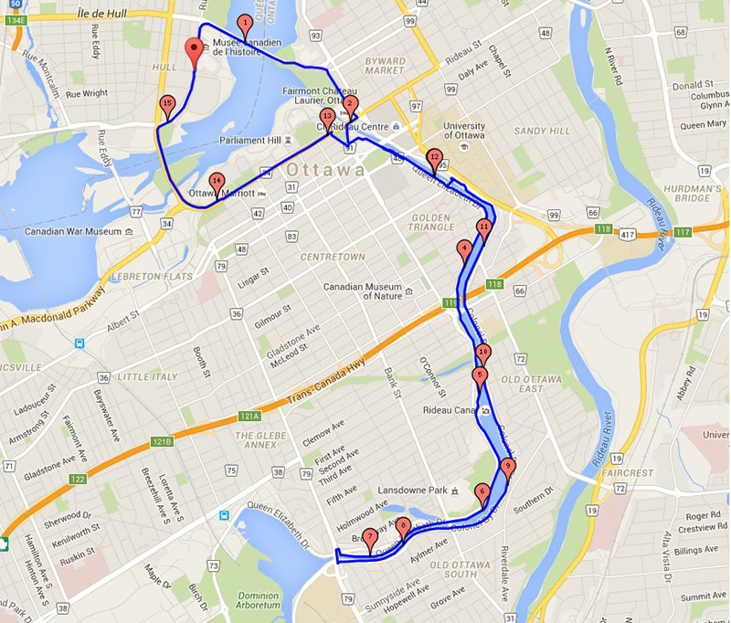 Team Awesomes Favourite Running Routes Run Ottawa