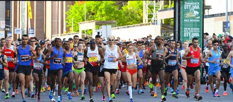 Under blue skies and dry weather, the 2017 Tamarack Ottawa Race Weekend welcomed more than 43,000 participants in six races