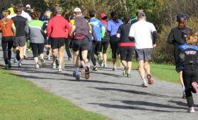 Cross Country racing in fall