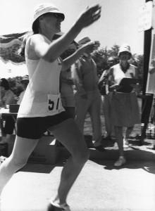 Thomas at the first Ottawa Marathon