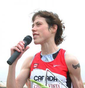 Elite 5K runner Émilie Mondor