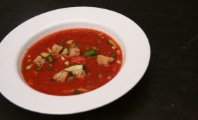 Gazpacho make a delicious, cool summer meal.