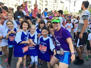 Kids Run Ottawa take part in the 2017 Scotiabank Kids Marathon