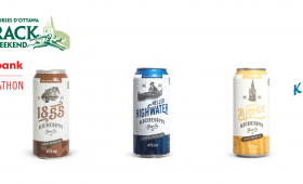 Kichesippi Beer is the new beer partner for Run Ottawa and Tamarack Ottawa Race Weekend