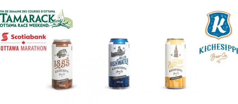 Kichesippi Beer is the new beer partner for Run Ottawa and Tamarack Ottawa Race Weekend