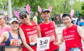 Running Room Pace Bunnies, Tamarack Ottawa Race Weekend
