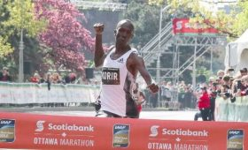 Albert Korir Tigist Girma 2019 Ottawa Marathon
