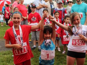 Canada Day Road Races for kids