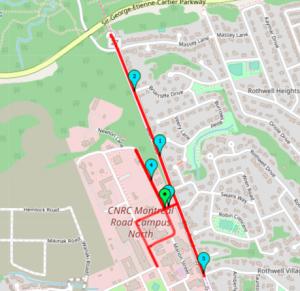 Dan Pak Running Route