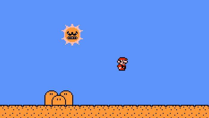 Mario Deadly Sun