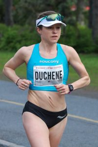 Krista Duchene came in first place for the Abbott World Marathon Majors Wanda Age Group World Championships