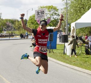 Running Room clinics and Pace Bunnies can help you get through a 10K, half-marathon or full marathon at Tamarack Ottawa Race Weekend