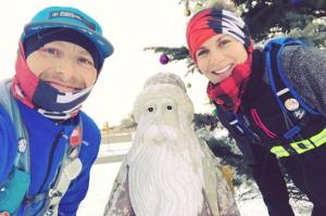 Erika Goreski won't let snow keep her from her regular runs