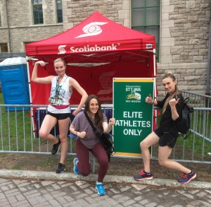 Three sisters take on Tamarack Ottawa Race Weekend 2018