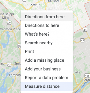 Driving Directions with Google Maps