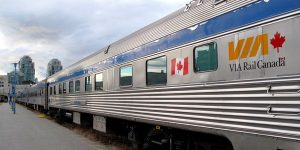 Via Rail Train