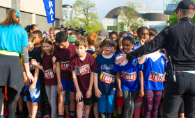 Scotiabank Ottawa Kids Marathon startline