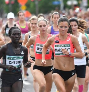 Lanni Marchant at the 2016 Ottawa 10K