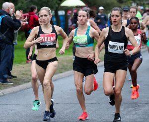 Natasha Wodak and Malindi Elmore race the 2019 Ottawa 10K